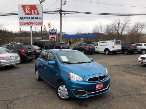 2017 Mitsubishi Mirage for sale at KB Auto Mall LLC in Akron OH