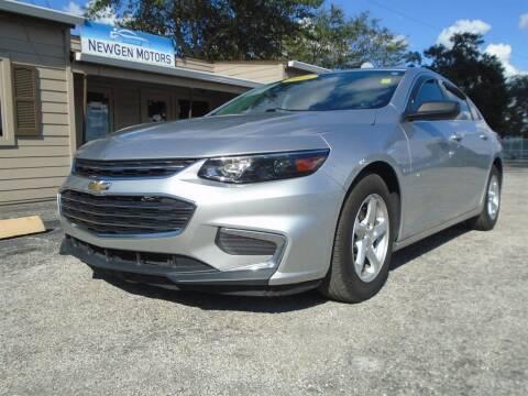 2016 Chevrolet Malibu for sale at New Gen Motors in Lakeland FL