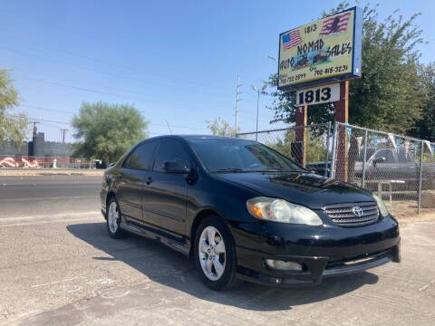 2005 Toyota Corolla for sale at Nomad Auto Sales in Henderson NV