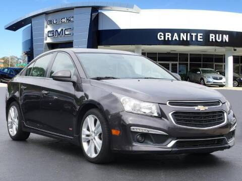 2015 Chevrolet Cruze for sale at GRANITE RUN PRE OWNED CAR AND TRUCK OUTLET in Media PA