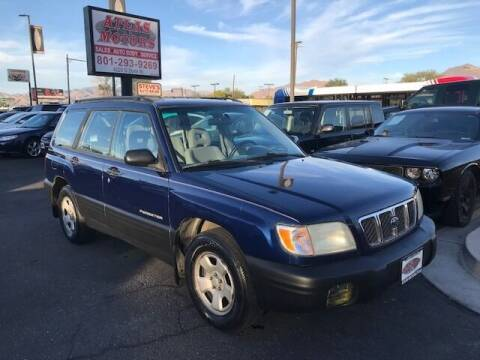 2001 Subaru Forester for sale at ATLAS MOTORS INC in Salt Lake City UT