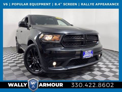2014 Dodge Durango for sale at Wally Armour Chrysler Dodge Jeep Ram in Alliance OH