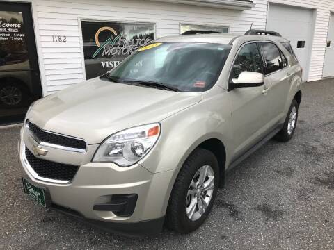 2013 Chevrolet Equinox for sale at HILLTOP MOTORS INC in Caribou ME