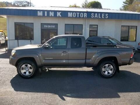 2012 Toyota Tacoma for sale at MINK MOTOR SALES INC in Galax VA
