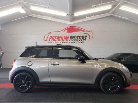 2017 MINI Hardtop 2 Door for sale at Premium Motors in Villa Park IL