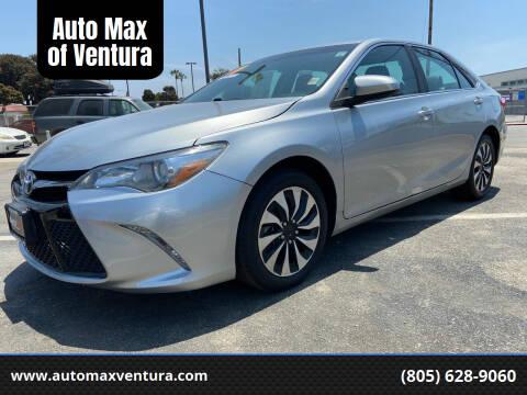 2017 Toyota Camry for sale at Auto Max of Ventura in Ventura CA