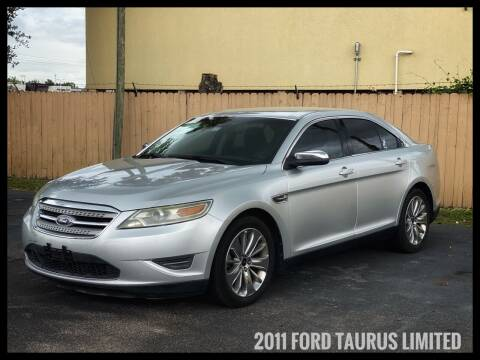 2011 Ford Taurus for sale at ASTRO MOTORS in Houston TX