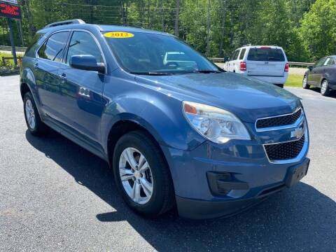 2012 Chevrolet Equinox for sale at Pine Grove Auto Sales LLC in Russell PA