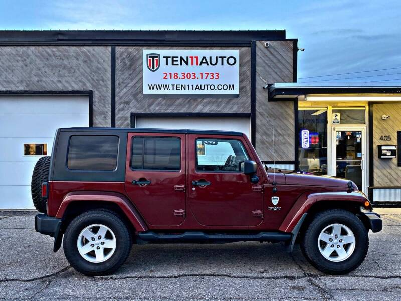 2007 Jeep Wrangler Unlimited for sale at Ten 11 Auto LLC in Dilworth MN