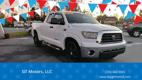 2008 Toyota Tundra for sale at GT Motors, LLC in Elkin NC