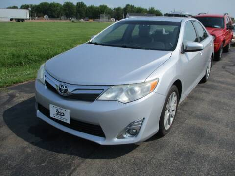 2012 Toyota Camry for sale at KAISER AUTO SALES in Spencer WI