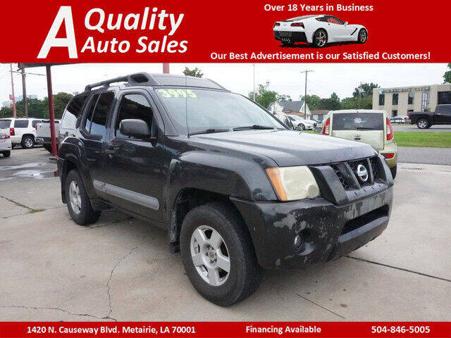 2005 Nissan Xterra for sale at A Quality Auto Sales in Metairie LA