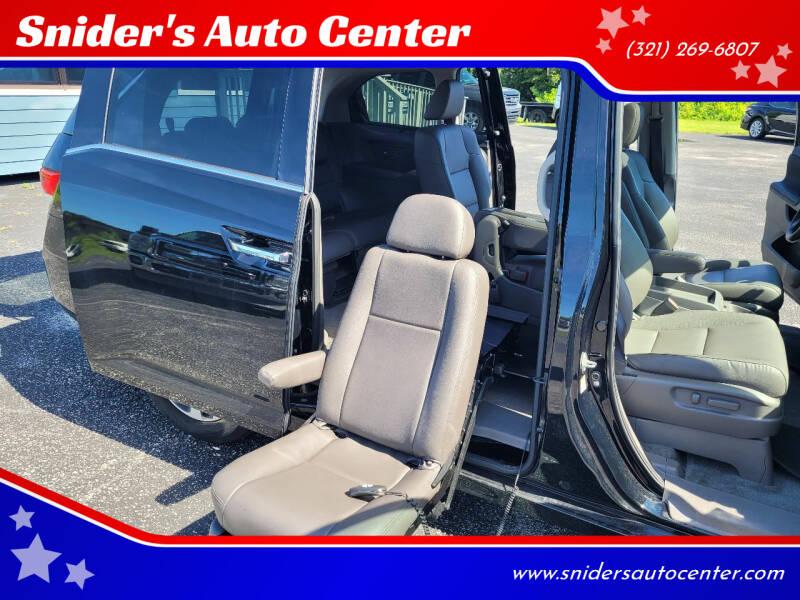 2016 Honda Odyssey for sale at Titus Trucks in Titusville FL