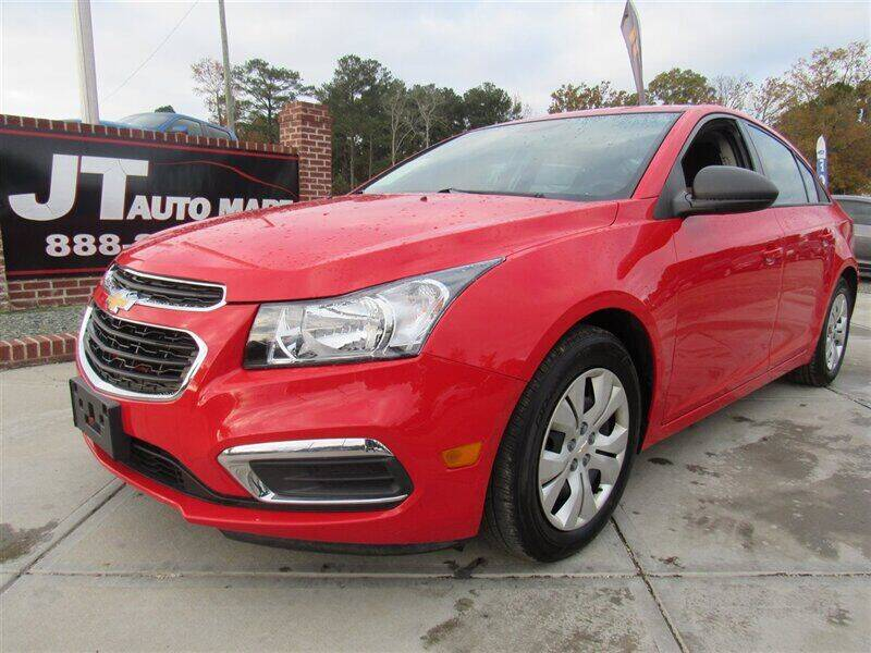 2016 Chevrolet Cruze Limited for sale at J T Auto Group in Sanford NC