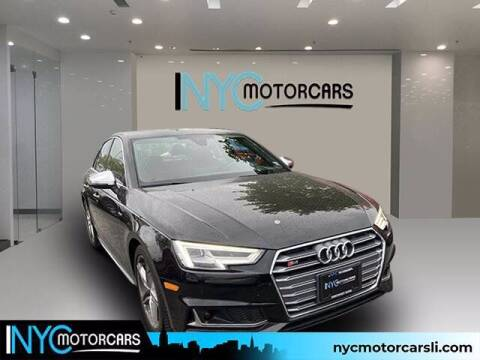 2018 Audi S4 for sale at NYC Motorcars in Freeport NY