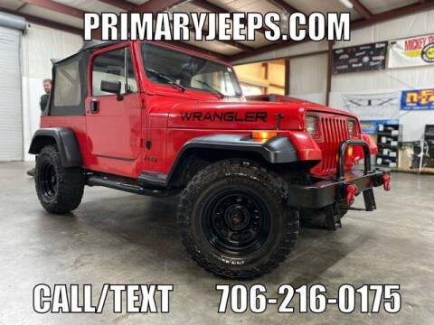 1989 Jeep Wrangler for sale at Primary Auto Group in Dawsonville GA