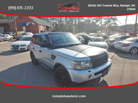 2008 Land Rover Range Rover Sport for sale at Complete Auto Center , Inc in Raleigh NC