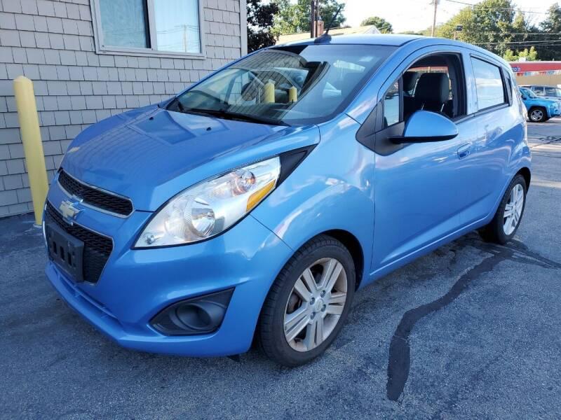 2014 Chevrolet Spark for sale at CAPITAL CAR CENTER in Providence RI