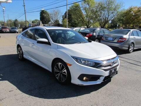 2016 Honda Civic for sale at St. Mary Auto Sales in Hilliard OH