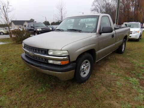 2002 Chevrolet Silverado 1500 for sale at Creech Auto Sales in Garner NC