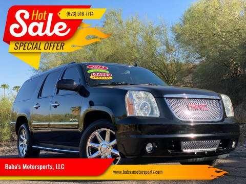 2013 GMC Yukon XL for sale at Baba's Motorsports, LLC in Phoenix AZ