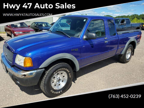 2003 Ford Ranger for sale at Hwy 47 Auto Sales in Saint Francis MN