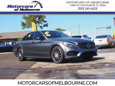 2018 Mercedes-Benz C-Class for sale at Motorcars of Melbourne in Rockledge FL