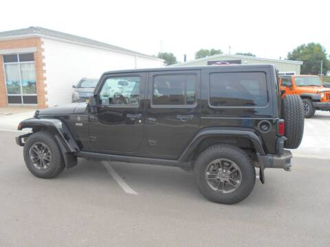 2016 Jeep Wrangler Unlimited for sale at Creighton Auto & Body Shop in Creighton NE