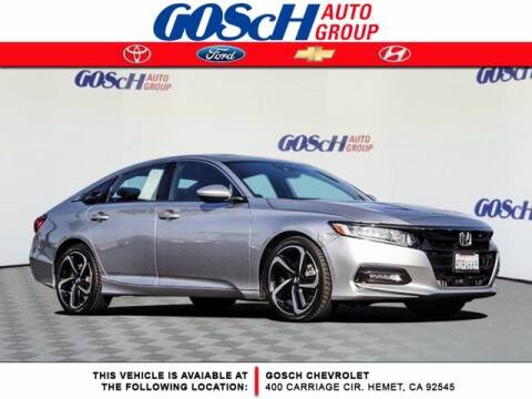 2018 Honda Accord for sale at BILLY D SELLS CARS! in Temecula CA