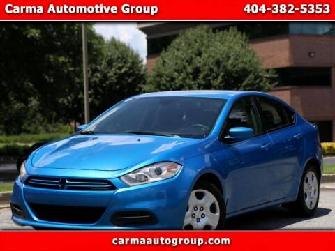 2015 Dodge Dart for sale at Carma Auto Group in Duluth GA