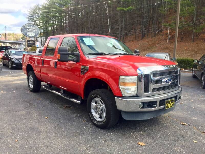 2010 Ford F-250 Super Duty for sale at Bladecki Auto in Belmont NH
