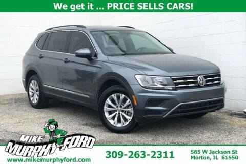 2018 Volkswagen Tiguan for sale at Mike Murphy Ford in Morton IL