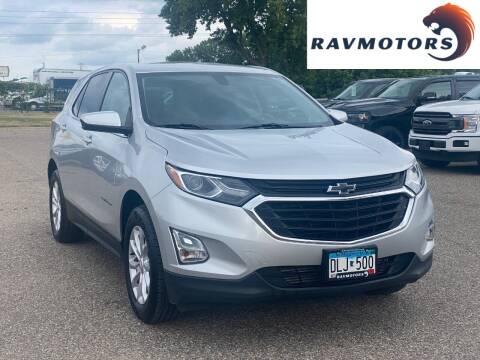 2018 Chevrolet Equinox for sale at RAVMOTORS in Burnsville MN