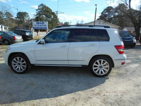 2010 Mercedes-Benz GLK for sale at W & D Auto Sales in Fayetteville NC