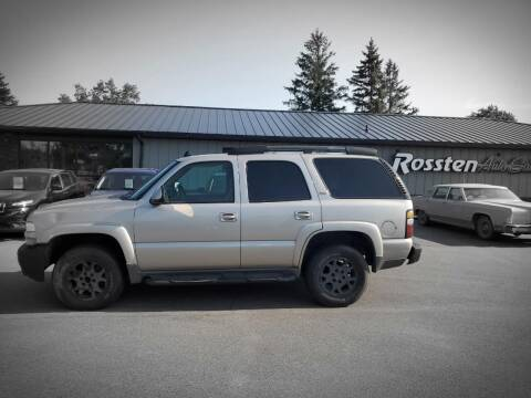 2006 Chevrolet Tahoe for sale at ROSSTEN AUTO SALES in Grand Forks ND