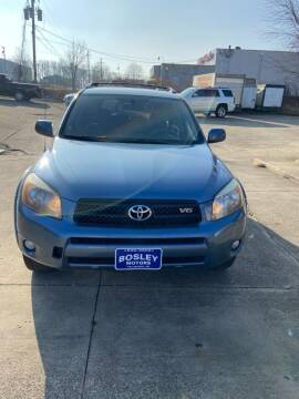 2006 Toyota RAV4 for sale at BOSLEY MOTORS INC in Tallmadge OH