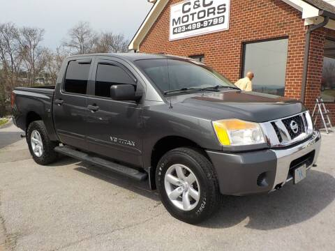 2008 Nissan Titan for sale at C & C MOTORS in Chattanooga TN