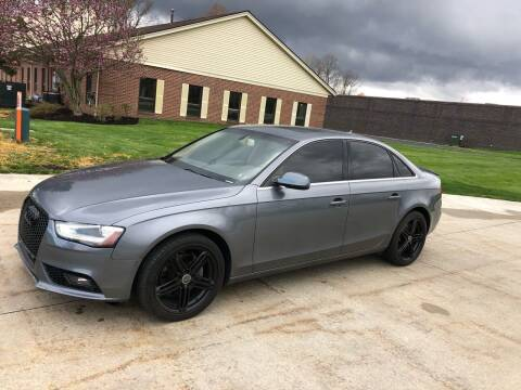 2013 Audi A4 for sale at Renaissance Auto Network in Warrensville Heights OH