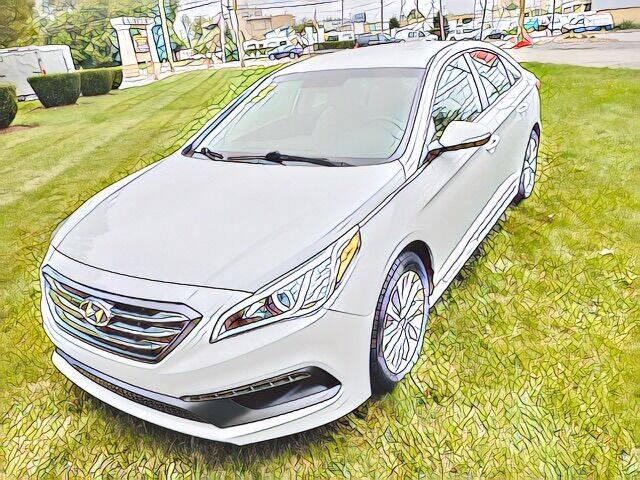 2015 Hyundai Sonata for sale at Del Sol Auto Mart in Des Plaines IL