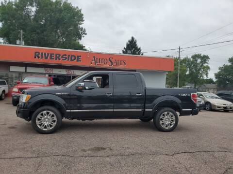 2010 Ford F-150 for sale at RIVERSIDE AUTO SALES in Sioux City IA