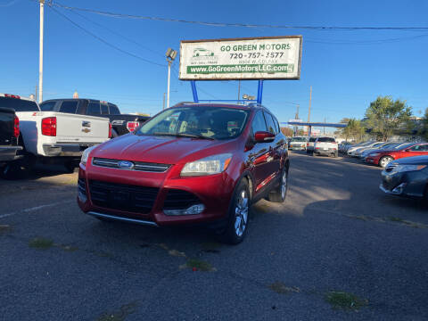 2014 Ford Escape for sale at GO GREEN MOTORS in Lakewood CO