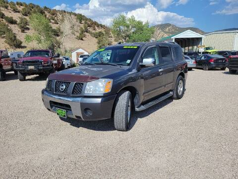 2004 Nissan Armada for sale at Canyon View Auto Sales in Cedar City UT