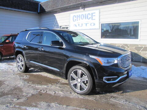 2018 GMC Acadia for sale at Choice Auto in Carroll IA