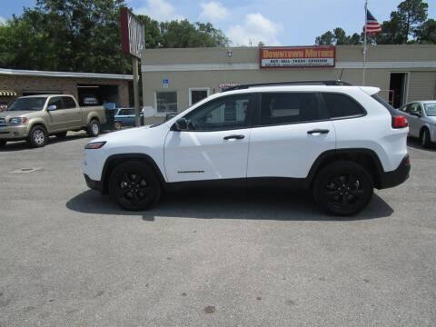 2017 Jeep Cherokee for sale at Downtown Motors in Milton FL