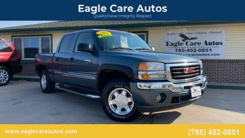 2006 GMC Sierra 1500 for sale at Eagle Care Autos in Mcpherson KS