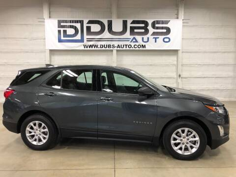 2018 Chevrolet Equinox for sale at DUBS AUTO LLC in Clearfield UT