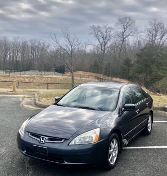 2005 Honda Accord for sale at ONE NATION AUTO SALE LLC in Fredericksburg VA