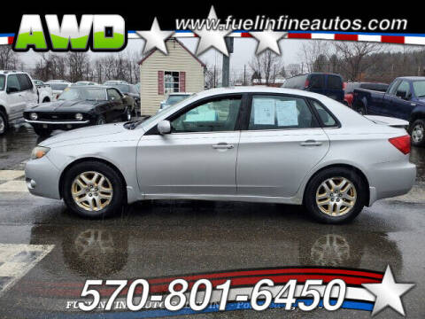 2010 Subaru Impreza for sale at FUELIN FINE AUTO SALES INC in Saylorsburg PA