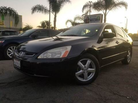 2003 Honda Accord for sale at GENERATION 1 MOTORSPORTS #1 in Los Angeles CA
