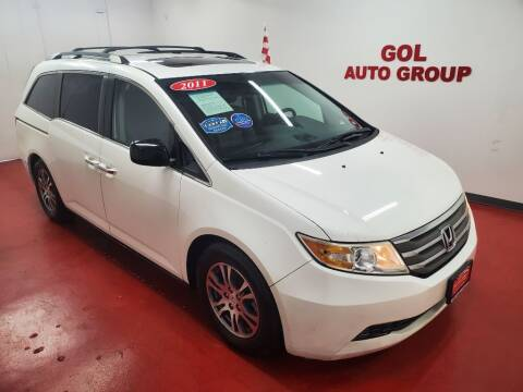 2011 Honda Odyssey for sale at GOL Auto Group in Austin TX